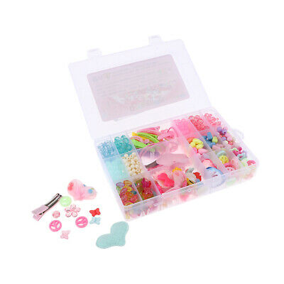 Colorful Acrylic Beads Set for Jewelry DIY Making Craft for Girls Kids