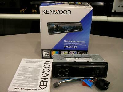 KENWOOD KMM-124 AUTORADIO CON USB AUX FRONTALE, SENZA LETTORE CD ***Nuovo***
