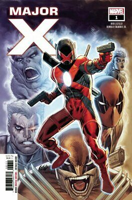 Major X #1 1St Full Appearance Of Major X (2019) Vf/nm Marvel