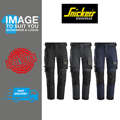 Snickers Trousers 6341 Slim Fit Stretch Trousers No Holster Pocket