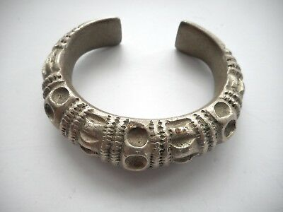 Old Southeast Asian / Hilltribe Coin Silver Ring Money / Bracelet