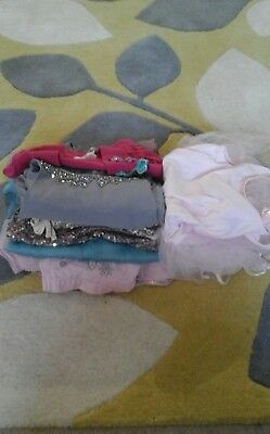 Girls party dress/party outfit bundle age 5 to 6 years