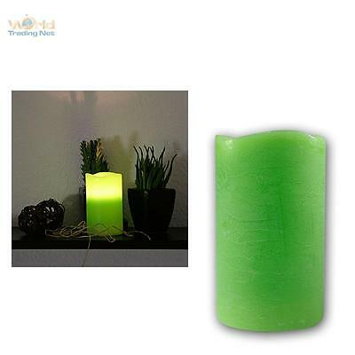 LED Candle in Real Wax Coating 10x7 5cm Flameless Wax Candles Flickering Leds
