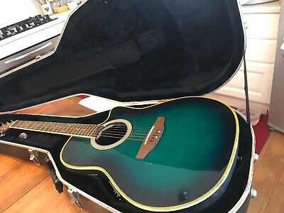 Ovation Applause AE44-4 ELITE NATURAL chitarra acustica elettrificata CUTAWAY