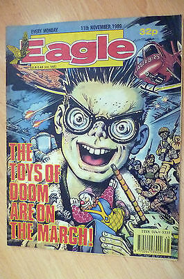 EAGLE COMIC- The Toys of Doom Are on the March !, 11 November 1989