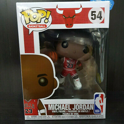 Funko Pop! Michael Jordan IN HAND #54 NBA Basketball (condition perfect)