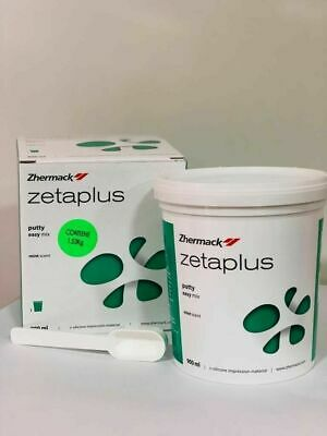 Zhermack Zetaplus Putty C-Silicone Dental Impression Material 900ml Only Putty.!