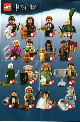 LEGO Figurine Minifigure 71022 Série Harry Potter Series Au Choix