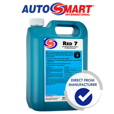 Autosmart RED 7, PH Neutral Wheel Cleaner, 5L, Official