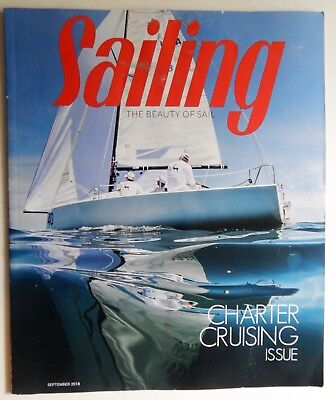 Sailing Magazine September 2018 Charter Cruising smelly bilge mailsail trim boat