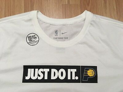 534b6daa Nike Indiana Pacers Just Do It JDI Cityscape Tshirt Men's Size Large NWT