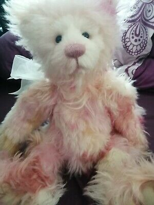 Charlie Bears Charlie 2018 mohair year bear complete with tags