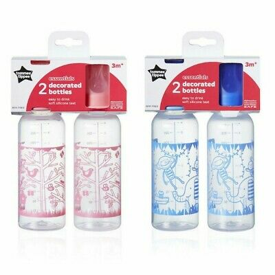 Tommee Tippee Essential Basics Standard Neck Bottles