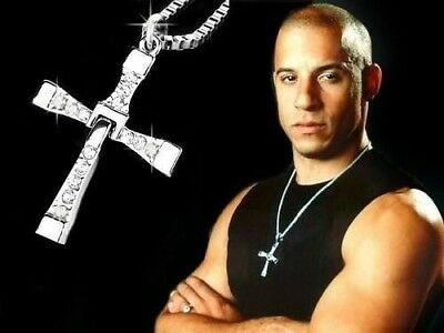 Collana Croce Fast and Furious Film Dominic Toretto Vin Diesel