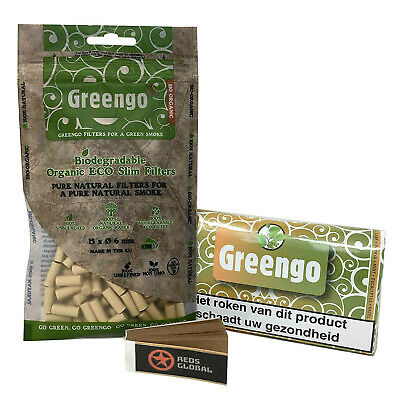 Greengo Bundle, Greengo filters, rolling papers