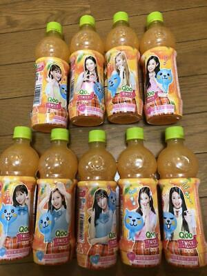 TWICE Qoo Drink Official Empty Bottle 9 set momo NAYEON SANA MINA jihyo TZUYU
