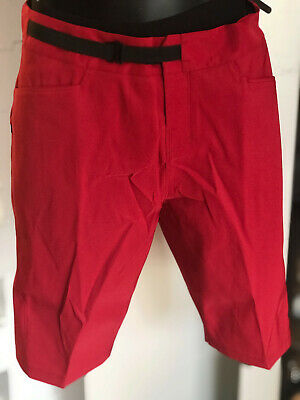 Other Cycling Clothing Pantaloncino Free Ride C/boxer Fondello Staccabile Blk/red