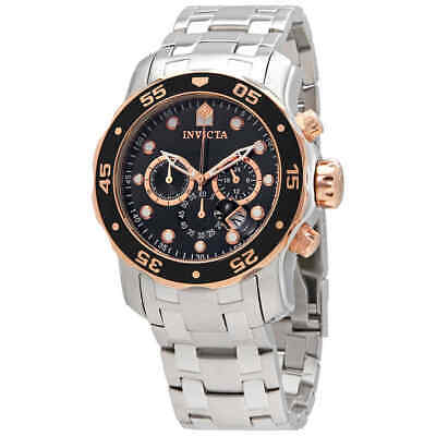 Invicta Pro Diver Chronograph Black Dial Men's Watch 80036