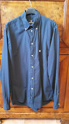 Murphy and Nye Camicia Shirt Casual Button Down Chemise Uomo Men Logo Custom Fit