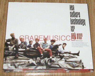 NCT 127 NCT127 #127 1st Mini Album Fire Truck CD + PHOTOCARD SEALED