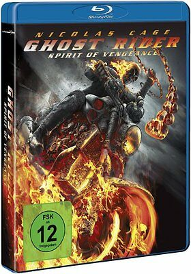 GHOST RIDER: SPIRIT OF VENGEANCE (Nicolas Cage) Blu-ray Disc NEU+OVP