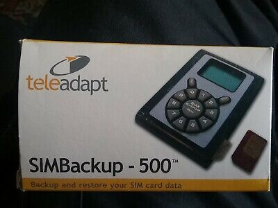 Sim Card Back Up Device-500