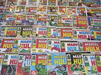 THE MIGHTY WORLD OF MARVEL,Hulk- Super- Heroes -Avengers Pick any 10 for £17.99