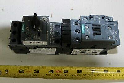 Siemens 3RA2120-1FA24-0AP0 Starter Combination New