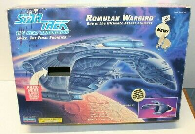New Star Trek The Next Generation Romulan Warbird by Playmates