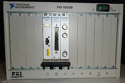 National Instruments PXI-1000B Compact PCI NI PXI-8330, PXI-6232 & PXI-1407