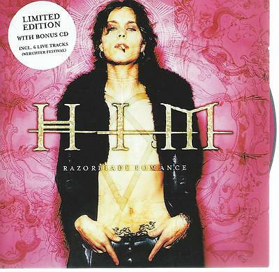 limited edition DOUBLE - 2 CD album HIM - RAZORBLADE ROMANCE 65