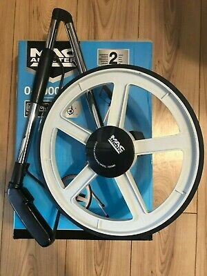 MAC Allister Folding Measuring Wheel Aluminium Lightweight  Metric 0-10000m