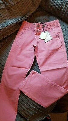 Massimo Dutti Pink Girls Trousers Age 7-8 Brand New