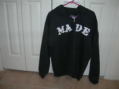 RARE AUTHENTIC VINTAGE  Good Charlotte MADE  hoodie LARGE  LIGHTLY WORN   WT
