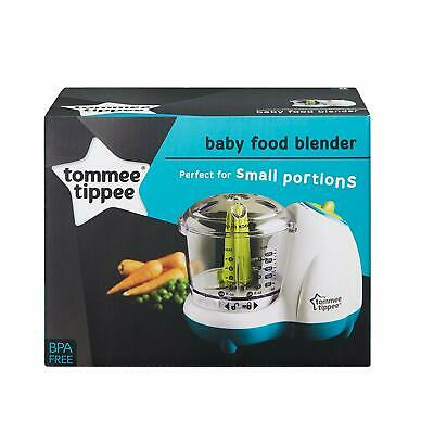 Tommee Tippee Explora Electric Small Baby Food Blender Masher Maker Chopper