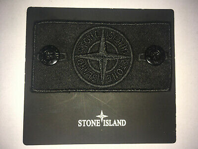 Stone Island Ghost badge replacement with buttons