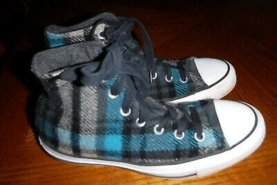 eefa093647ff Converse Chuck Taylor All-Star Woolrich Mens 5.5 Flannel Plaid Hi Top Shoes