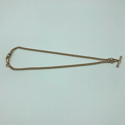 Spinner Fob Hallmarked:-birmingham Circa 1968 Jewelry & Watches Solid 9ct Gold Double Albert