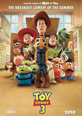 TOY STORY 3 MOVIE POSTER 2 Sided ORIGINAL Ver B 27x40 TOM HANKS