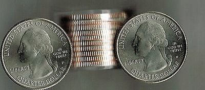 2018 Roll of 10 Uncirculated Apostle Islands 5 X P & 5 X D's Quarters!