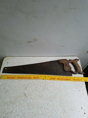 Vintage Sheffield Hand  Saw