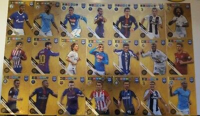 Panini Fifa 365 18 19  Update limited Edition Verdi Uth Messi Sancho Dumfries..