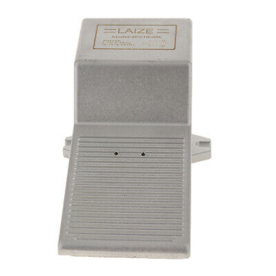 Pneumatic Foot Pedal Valve Air Switch 2 Position 5 Way Self-locking