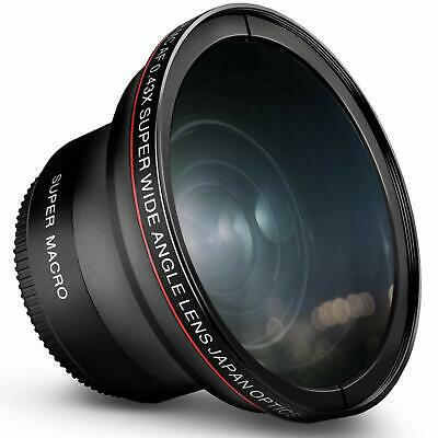 52MM Altura Photo® 0.43x Wide Angle Macro Lens for Nikon DSLR Cameras