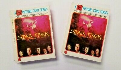 1979 Rainbo Star Trek The Motion Picture Complete Set