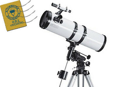 Visionking 6 '' 150 - 750mm EQ Reflector Newtonian Astronomical Telescope moon