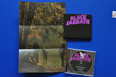 Black Sabbath Master Of Reality Collector's Edition Digipak CD with poster MINT!