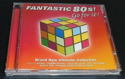 Fantastic 80's (The Ultimate Collection), by Various Artists – on Audio CD