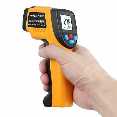 LCD GM550 -50~550 C Digital infrared Thermometer Pyrometer Aquarium laser Newest