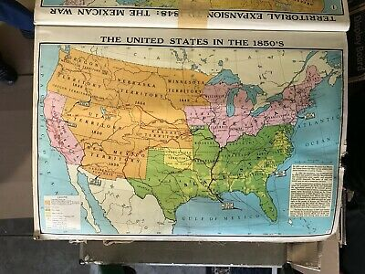 36 Vintage Color WALL MAPS Indian Pioneers Mining America Europe World Wars MORE